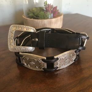 Fossil - Leather and metal belt.  NWOT